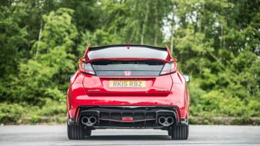 New Honda Civic Type R 2015 rear static