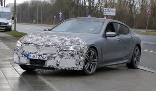 Facelifted 2022 BMW 8 Series Gran Coupe spotted