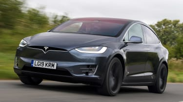 Tesla Model X - best 7-seater cars