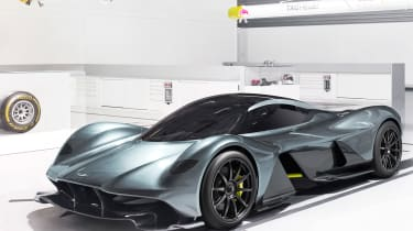 Aston Martin RB 001 official - front quarter