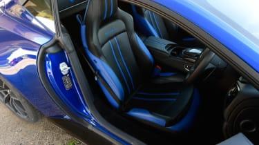 Aston Martin Vantage - seats