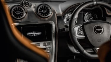 Speedback Silverstone edition interior