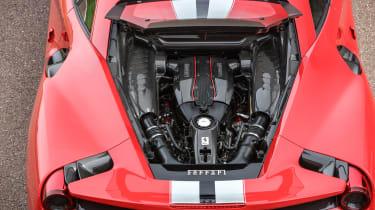 Ferrari 488 Pista - engine