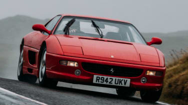 Top 5 greatest ever V8 Ferraris - Ferrari F355