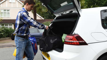 Ultimate guide to car sharing - Zipcar Golf GTE boot