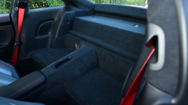 Porsche 911 Carrera T - back seats