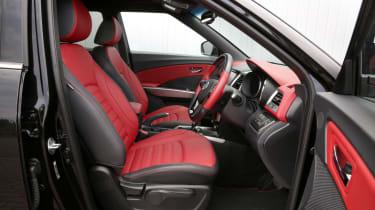 SsangYong Tivoli ELX diesel seats