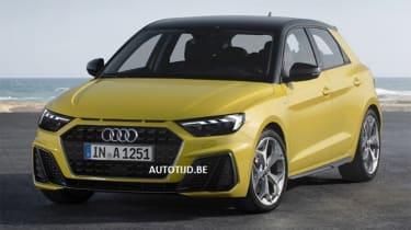 Audi A1 - leak front