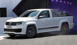 VW Amarok Power-Pickup side live