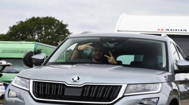 Skoda Kodiaq front windscreen
