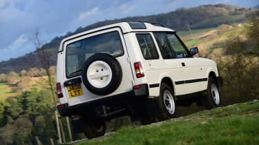 Land Rover Discovery Mk1 - rear static