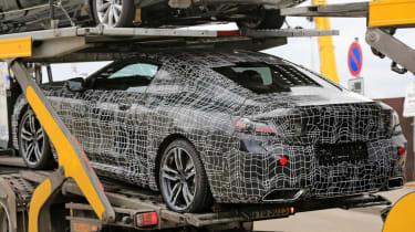 BMW 8 Series - loaded spy shot