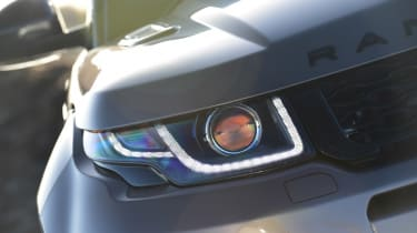 Range Rover Evoque SD4 - front light