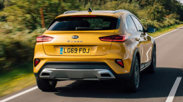 Kia XCeed 1.4 petrol - rear