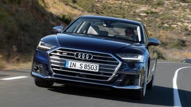 Audi S8 - full front