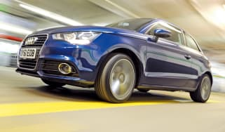 Audi A1 1.6 TDI front tracking
