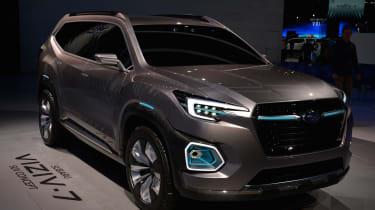 Subaru VIZIV-7 SUV Concept - LA Motor Show front static