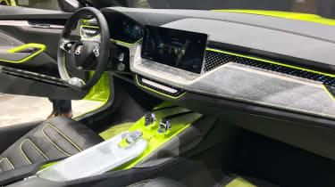 Skoda Vision X - Geneva cabin