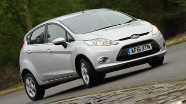Ford Fiesta 1.25 Zetec front tracking