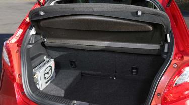 Mazda 2 EV 2013 boot