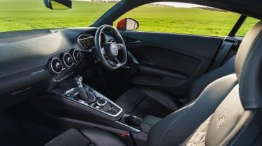 Audi TT Coupe - interior