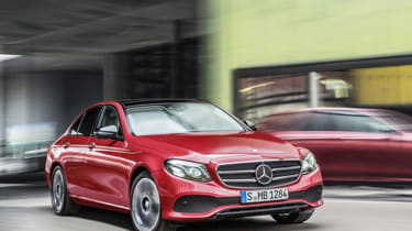 Mercedes E-Class 2016 front red