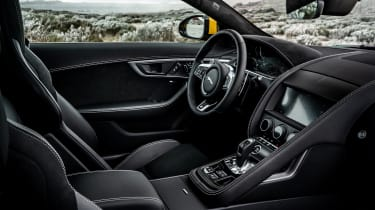 2020 Jaguar F-Type - interior