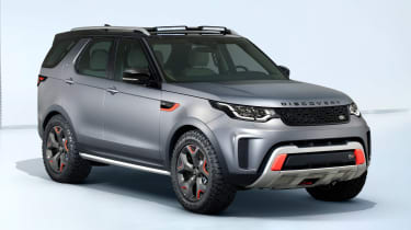 Land Rover Discovery SVX - front