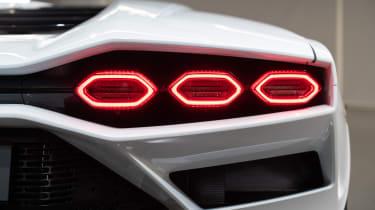 Lamborghini Countach LPI 800-4 rear lights