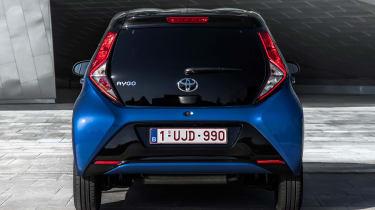 Toyota Aygo - rear