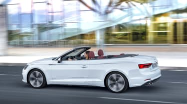 New Audi A5 Cabriolet 2017 rear
