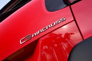 Citroen C3 Aircross - C3 Aircross badge