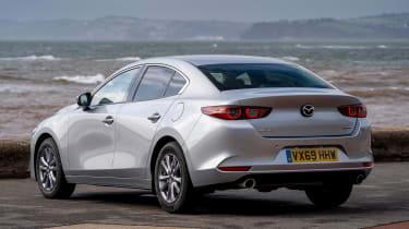 Mazda 3 saloon - rear