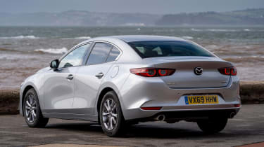 Mazda 3 saloon - rear