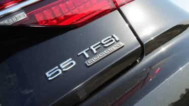 Audi A8 55 TFSI - 55 TFSI badge