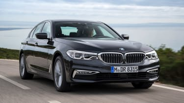 New BMW 5 Series - front action