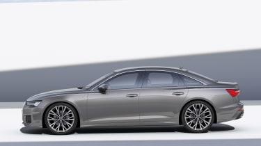 Audi A6 - studio side