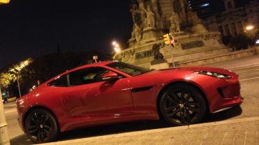 Jaguar F-Type coupe Barcelona