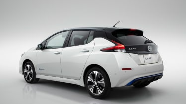 New Nissan Leaf - rear