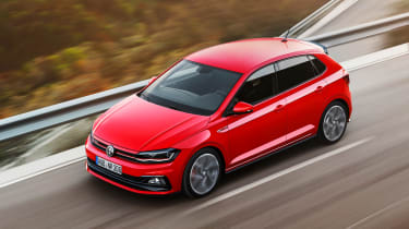 New Volkswagen Polo GTI - above