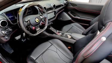 Ferrari Portofino - interior
