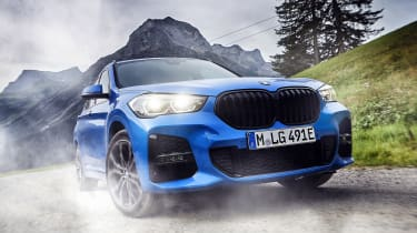 BMW X1 and X2 PHEV - front