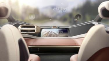 NIO EVE CONCEPT windscreen