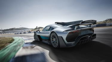 Mercedes-AMG Project ONE - rear action