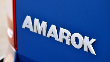 Volkswagen Amarok pick-up 2016 - rear badge