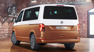 VW California - rear