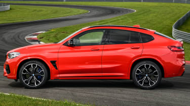 BMW X4 M Competition - side static