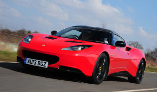 Lotus Evora S front tracking