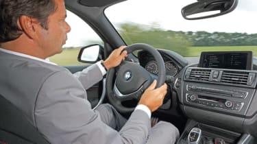 BMW 3-cylinder Prototype interior