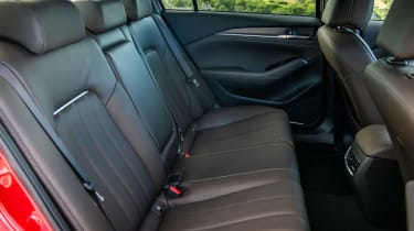 New Mazda 6 2018 facelift review rear seats